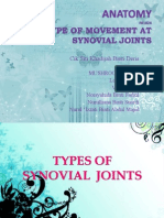 Anatomy--synovial joint
