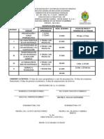 Dosificación Anual Química 2012
