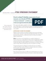 PTSD Writing