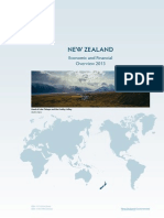 Financial and Economic Overview of Newzealand
