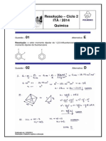 T-ita-sj Resolucao de Química Ita - Ciclo 2 2014