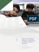 Capitulo 1 La Evaluacion Docente en Chile