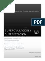 Superovulación y Superfetación