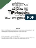 PCA CTA 5° - 2014