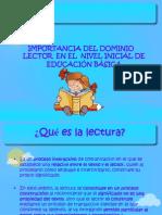 taller de dominio lector y velocidad lectora para padres 2011..ppt