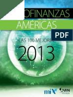 Microfinanzas Mix 100 2013