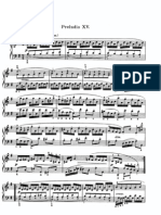 The Well Tempered Clavier II - Prelude & Fugue_15