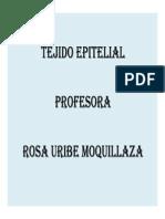 [Semana 01] Tejido Epitelial
