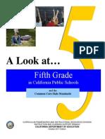 a look at 5th grade in ca public schools