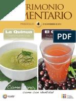 Patrimonio Alimentario n°4.
