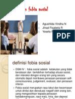 Gangguan Fobia Sosial