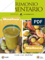 Patrimonio Alimentario nro. 2, Ecuador.