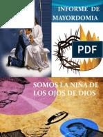 INFORME DE MAYORDOMÍA