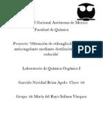Proyecto Organica etilenglicol