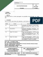 NBR 10474 TB 338 - Qualificacao Em Soldagem