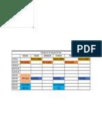 Schedule 1st Sem 3rdyear
