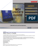 MDI GM Users Manual
