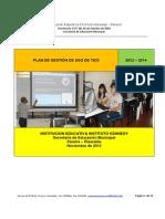 Plandegestiondeticsenlainstituccioneducativainstitutokennedy Pereira 121128103238 Phpapp01