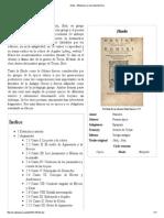 Ilíada - Wikipedia, La Enciclopedia Libre
