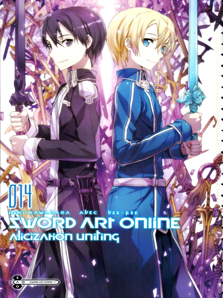 sword art online 14 alicization uniting pdf