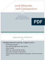1 10  speech etiquette consequences and rules