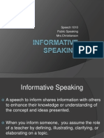 1 12  informative speaking
