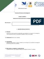 Formato de Protocolo de Investigación
