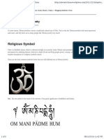 Eight Sacred Buddhist Symbols