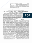 Vapor Pressures of Phlegmatic Liquids. I. Simple and Mixed Triglycerides