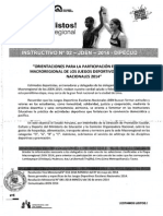 INSTRUCTIVO N° 02-JDEN-2014