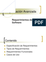 Requerimientos Software 1 Materia