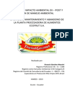 PLANTA+PROCESADORA+DE+ALIMENTOS+ECOFRUT+S.A.