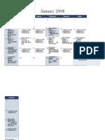 2008 Calendar on Multiple Worksheets 1