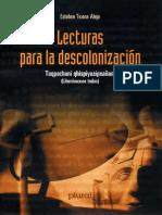 Lecturas Esteban Ticona