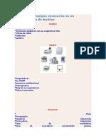 Elementos y Equipos Necesarios en Un Departamento de Archivo
