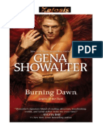 Burning Dawn (Angeles de La Oscuridad 3)