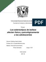 Los Estereotipos de Belleza Afectan Física y Psicológicamente a Las Adolescentes_EstefanyGarciaAyala (1)