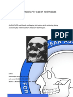 Intermaxillary Fixation Techniques Manual
