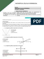 Evaluación Matemática Cálculo Diferencial