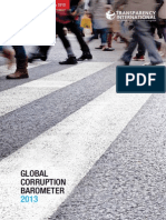 Barometro Global de Corrupci n 2013