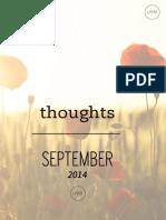 Fall Into Inspiration / September 2014