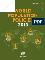 ONU - World Population Policies 2013