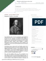 DEVELANDO LA VERDAD_ Benjamin Franklin y Los Judíos