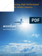 Accenture Airline High Performance