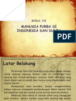 Manusia Purba Di Indonesia Siipp
