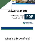 2014 Brownfields 101 Presentation