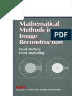 CT Natterer 2007 Mathematical Methods in Image Reconstruction