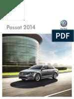 2014 VolGFkswagen Passat Brochure En