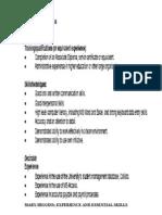 Student Admin. Officier Key Selection Criteria