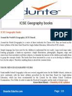 Icse Geography Books